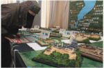 2020/2/14 中日新聞 湖国の25城をジオラマに びわ湖大津館で企画展